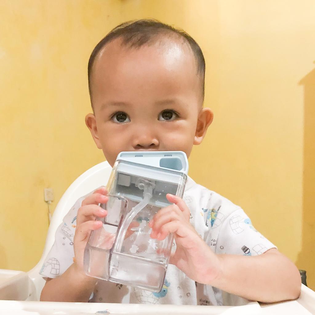 mugu water bottle, botol minum anak
