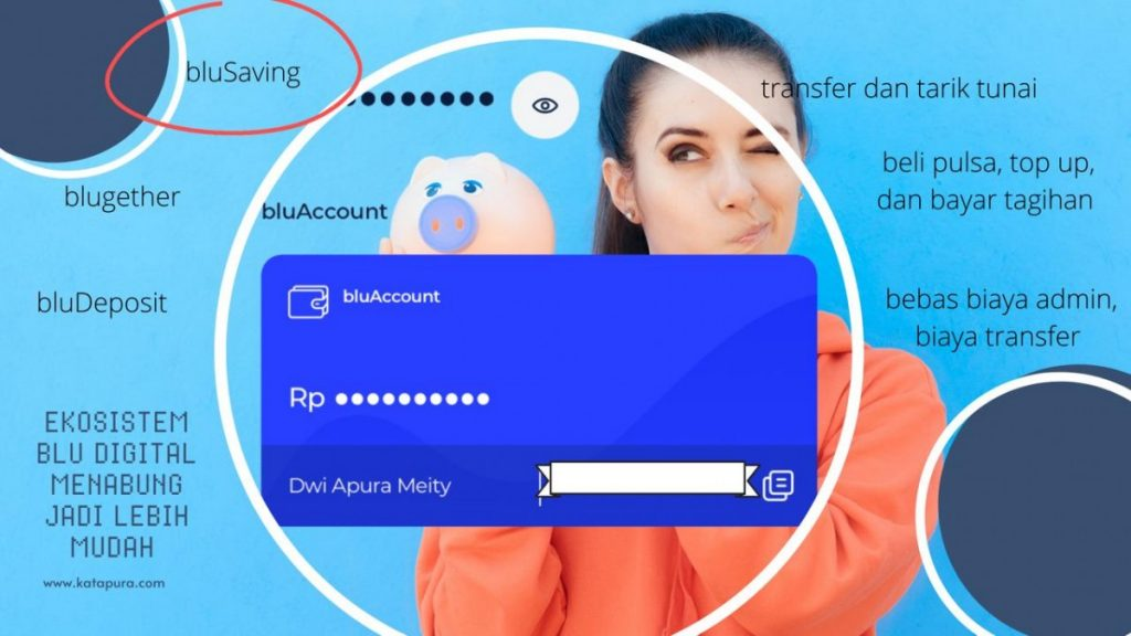 Apikasi blu by BCA Digital